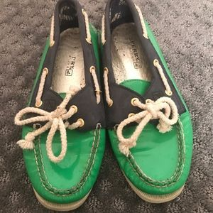 Patent Leather Sperrys